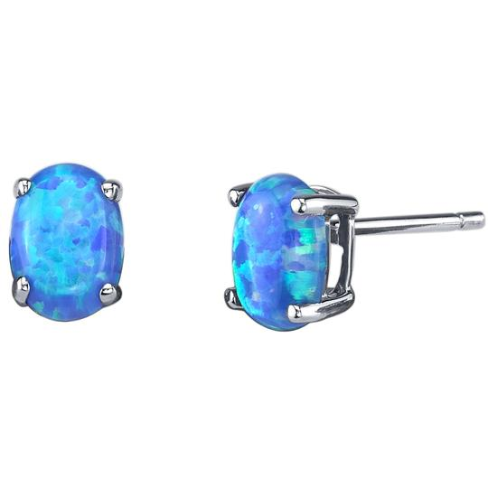 other Oval Opal Studs Image 1