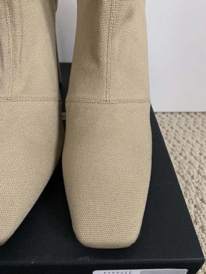 YEEZY Stretch Canvas Square Toe Beige Boots Image 4