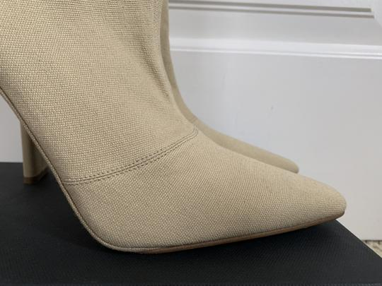 YEEZY Stretch Canvas Square Toe Beige Boots Image 7