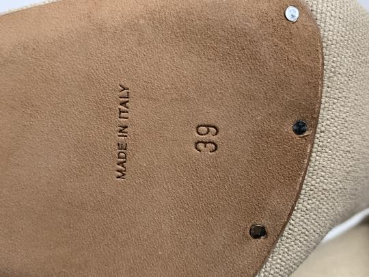YEEZY Stretch Canvas Square Toe Beige Boots Image 9