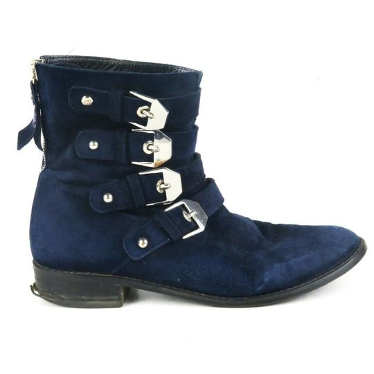 Preload https://img-static.tradesy.com/item/26263096/stuart-weitzman-blue-velvet-buckle-back-zipper-jitterbug-bootsbooties-size-eu-35-approx-us-5-regular-0-0-540-540.jpg