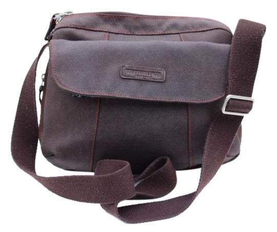 Preload https://img-static.tradesy.com/item/26263107/brown-canvas-and-leather-cross-body-bag-0-1-540-540.jpg