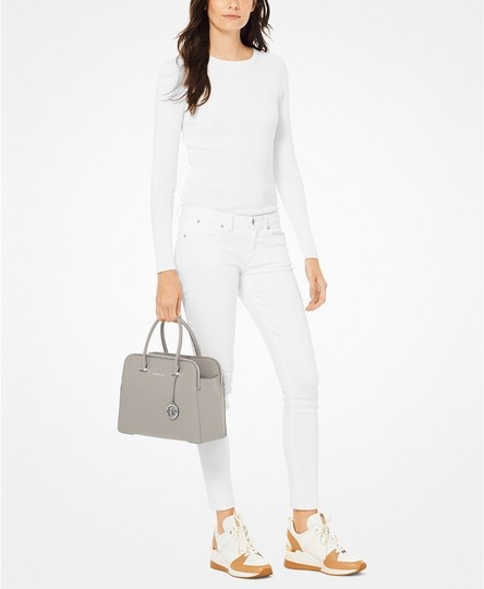 MICHAEL Michael Kors Satchel in Grey Image 1
