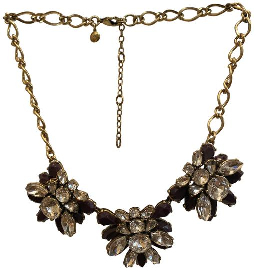 Preload https://img-static.tradesy.com/item/26263112/jcrew-plum-and-crystal-statement-necklace-0-1-540-540.jpg