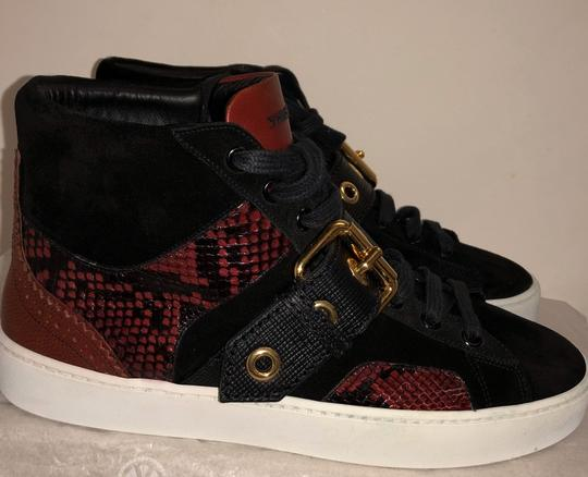 Burberry London Black with dark red Athletic Image 1
