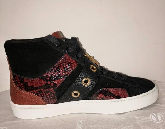 Burberry London Black with dark red Athletic Image 3