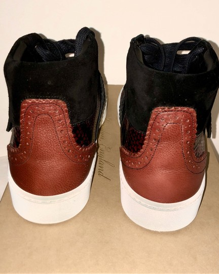 Burberry London Black with dark red Athletic Image 5