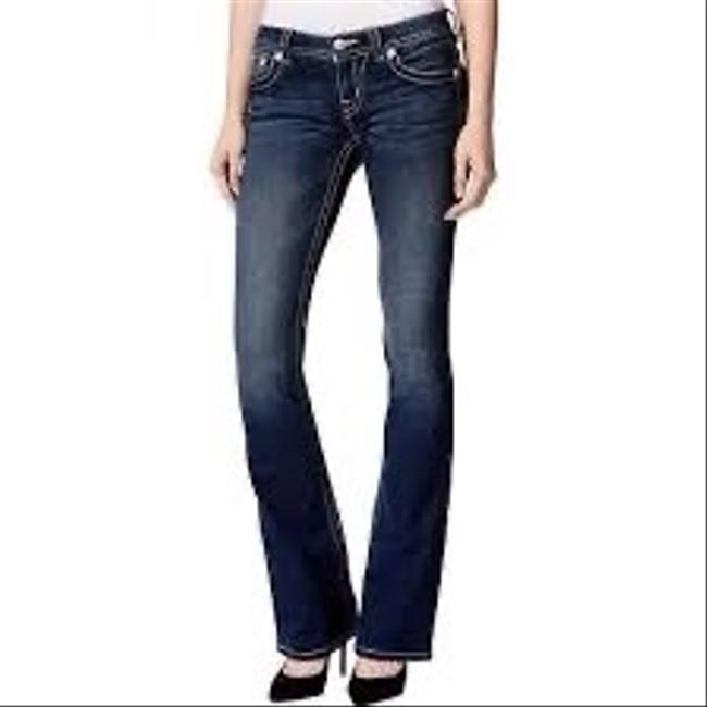 Miss Me Boot Cut Jeans-Dark Rinse Image 1