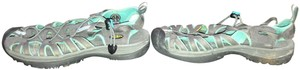 KEEN Water Travel Lightweight Walking Turquoise & Gray Athletic