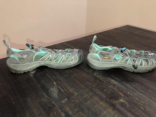 KEEN Water Travel Lightweight Walking Turquoise & Gray Athletic Image 1