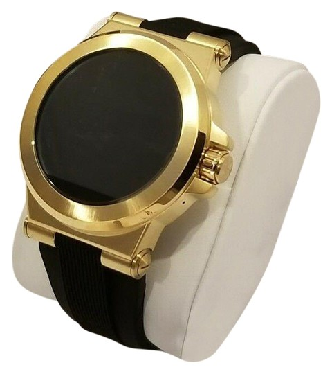 Preload https://img-static.tradesy.com/item/26263283/michael-kors-gold-tone-black-new-access-touch-screen-and-smartwatch-watch-0-1-540-540.jpg
