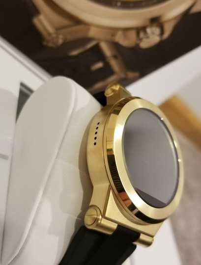 Michael Kors New Michael Kors Access Touch Screen Black and Gold Tone Smartwatch Image 6