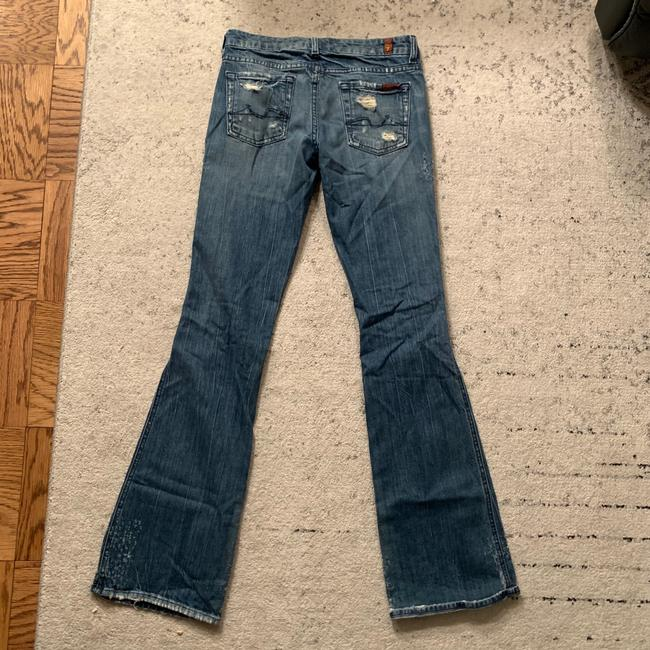 7 For All Mankind Flare Leg Jeans Image 4
