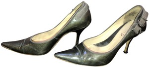 Boutique 9 Jeans Unusual Fun Different Green/ Gray Pumps