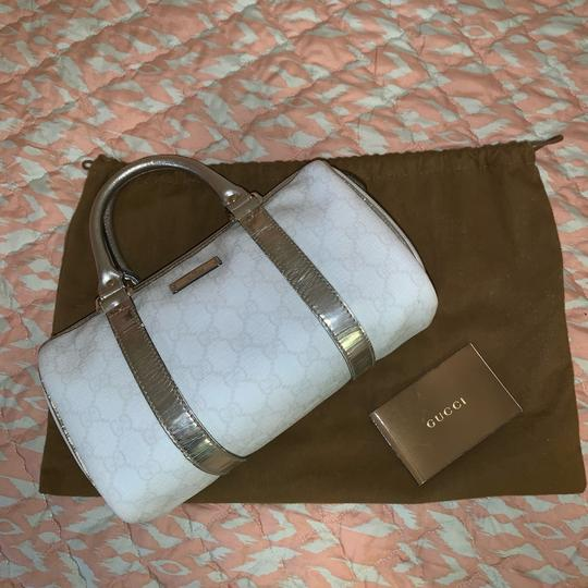 Gucci Satchel in silver Image 2