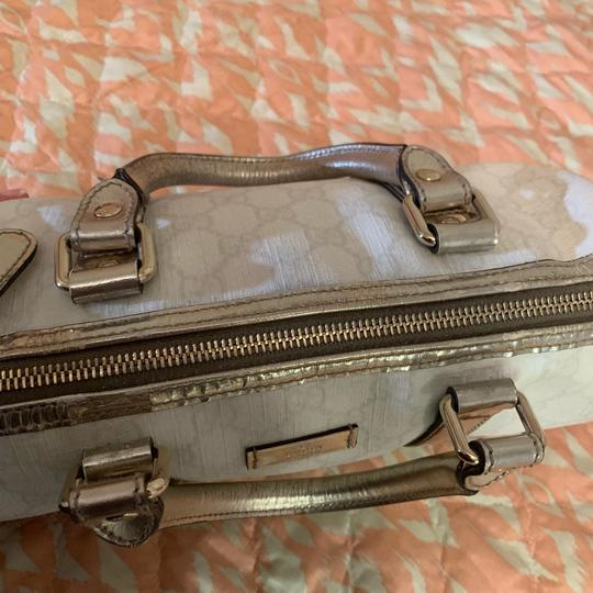 Gucci Satchel in silver Image 6