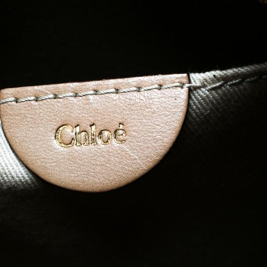 Chloé Leather Beige Clutch Image 5