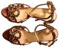 Charlotte Olympia Bronze Sandals Image 0