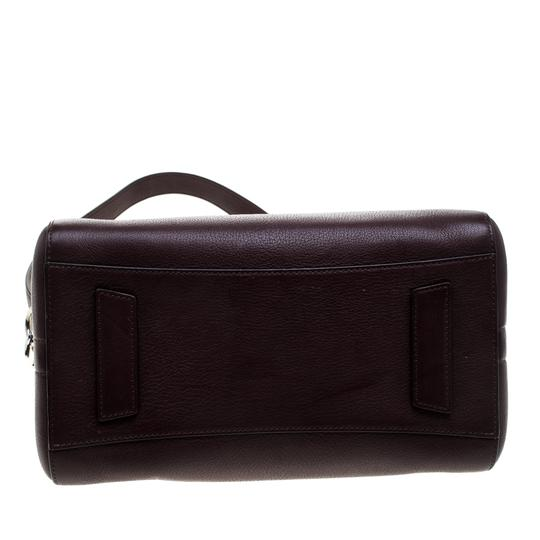 Givenchy Leather Satchel in Burgundy Image 4