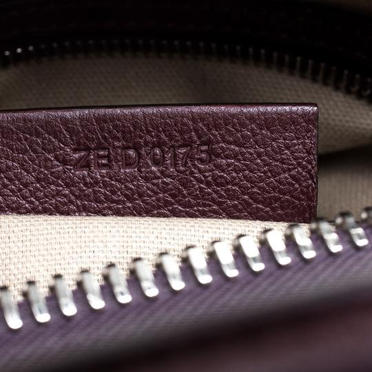 Givenchy Leather Satchel in Burgundy Image 8