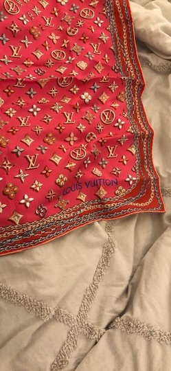 Louis Vuitton silk scarf Image 2