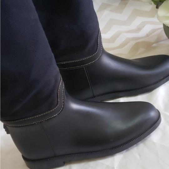 Chloé Navy blue, black and brown leather Boots Image 1
