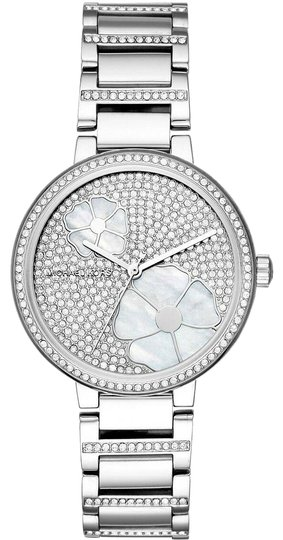 Preload https://img-static.tradesy.com/item/26263664/michael-kors-silver-courtney-flash-sale-mother-of-pearl-watch-0-5-540-540.jpg