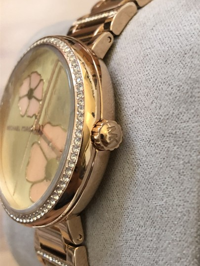 Michael Kors Flash-sale Courtney mother-of-pearl floral print watch Image 1