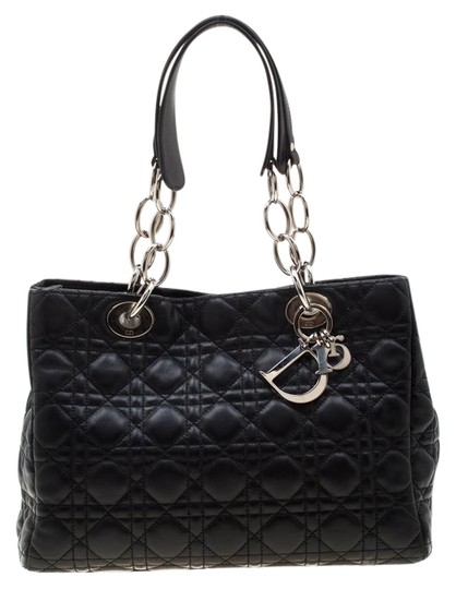 Preload https://img-static.tradesy.com/item/26263709/dior-lady-cannage-small-soft-black-leather-tote-0-1-540-540.jpg