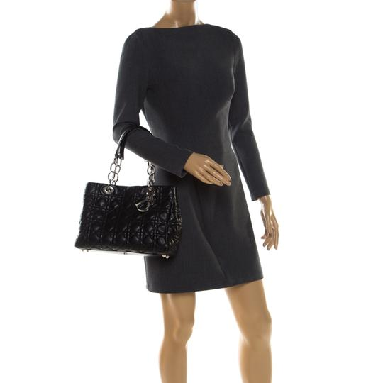 Dior Leather Tote in Black Image 2