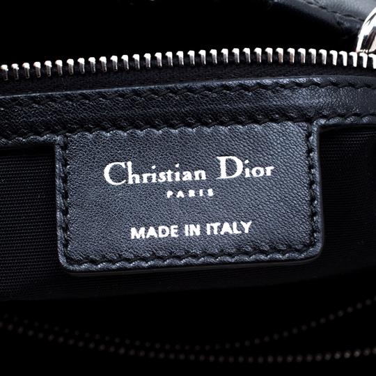 Dior Leather Tote in Black Image 9