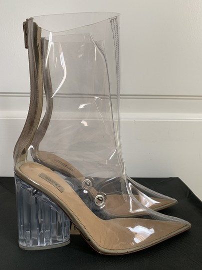 YEEZY Pointed Toe Pvc Clear Boots Image 2
