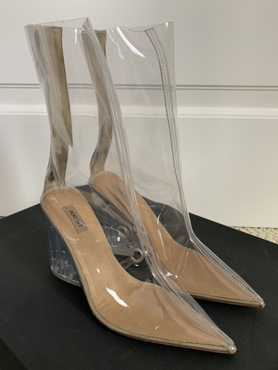 YEEZY Pointed Toe Pvc Clear Boots Image 3