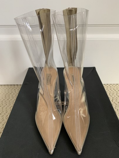 YEEZY Pointed Toe Pvc Clear Boots Image 4