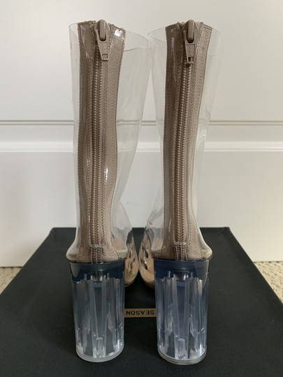 YEEZY Pointed Toe Pvc Clear Boots Image 5