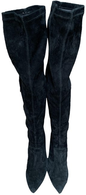 Item - Black Over The Knee Boots/Booties Size EU 39 (Approx. US 9) Regular (M, B)