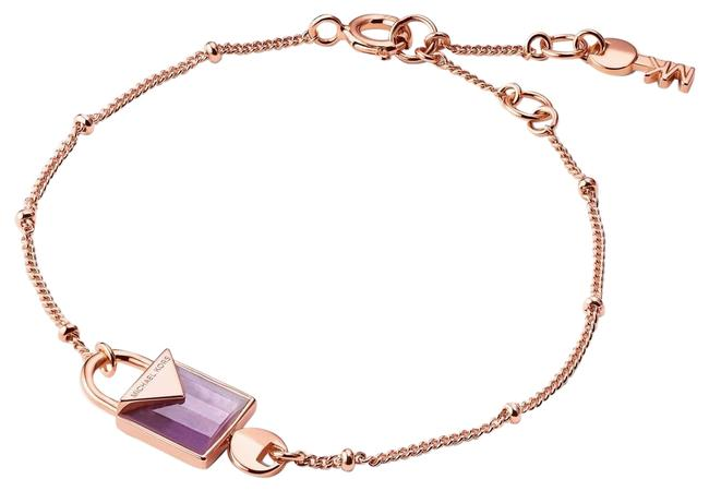Item - Rose Gold-plated Semi-precious 14k Sterling Silver Mkc1041av Bracelet