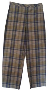 Ann Taylor Plaid Capri/Cropped Pants Multi Plaid