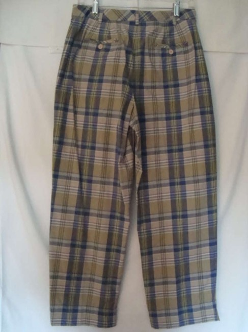 Ann Taylor Capri/Cropped Pants Multi Plaid