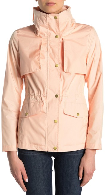 Item - Apricot W Packable Packable Drawcord Hood Coat Size 4 (S)