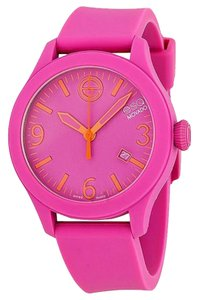 ESQ 7301435 Pink Rubber Band Analog Pink Dial Watch