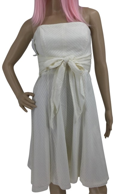 Item - Ivory Mid-length Night Out Dress Size 2 (XS)