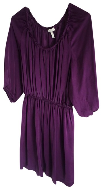 Item - Purple Short Work/Office Dress Size 2 (XS)