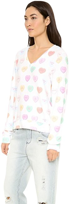 Item - Candy Hearts Multi Color Sweater