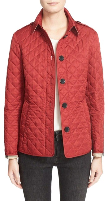 Item - Red Ashurst Quilted Women's Jacket Size 8 (M)