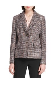 DKNY Multi black/plum/grey/blush Blazer
