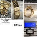 Unbranded Yellow Gold 14kt Pattern Watch Band Design Bracelet Unbranded Yellow Gold 14kt Pattern Watch Band Design Bracelet Image 6