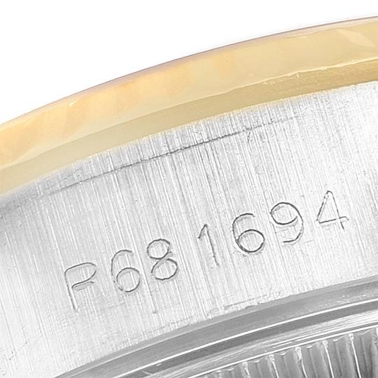 Rolex Rolex Datejust Steel Yellow Gold Tapestry Dial Ladies Watch 69173 Box Image 7
