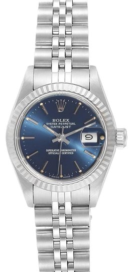 Preload https://img-static.tradesy.com/item/26272026/rolex-blue-datejust-steel-white-baton-dial-ladies-69174-watch-0-1-540-540.jpg
