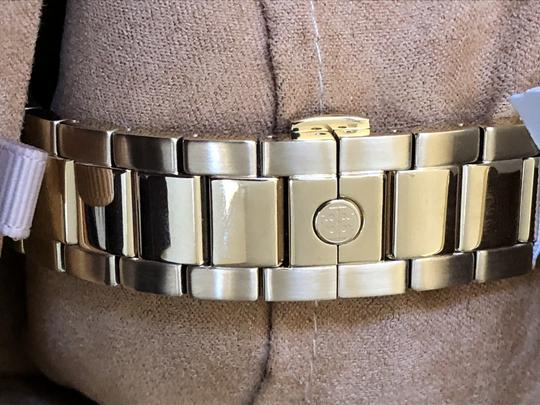 Tory Burch Collins gold/navy chronograph watch Image 4